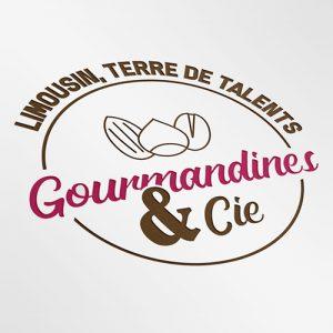 LOGO GOURMANDINES & CIE